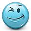 Emoticon Wink icon