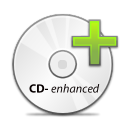 CD Enhanced copy icon