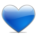 Favorites blue copy icon