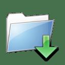 Folde r Down icon
