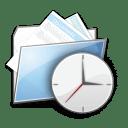 Folder Clock icon
