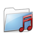 Folder Music copy icon