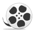 Reel with film copy icon