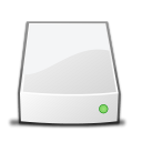 External drive copy icon