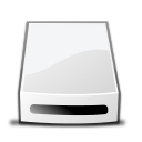 Removable-drive-copy icon