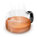 Glass Teapot Red icon