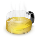 Glass-Teapot-Yellow icon