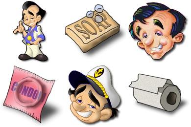 Larry Laffer Icons