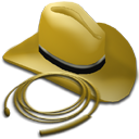 Hat and Whip icon