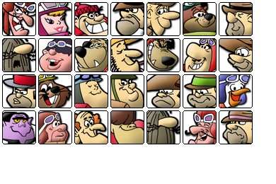 Wacky Dastardly Icons