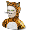 cat costume icon