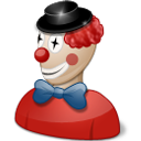 clown costume icon
