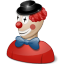 Clown-costume icon