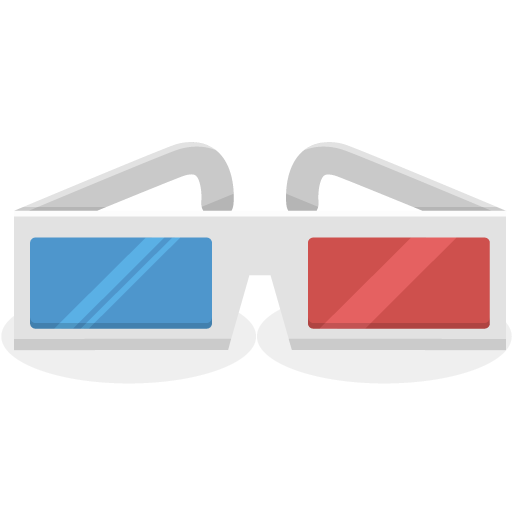 3D-Glasses icon