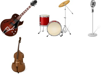 Free Instruments Icons
