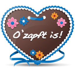 Gingerbread Heart icon