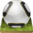 Soccer-ball-grass icon