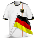 Soccer shirt germany icon