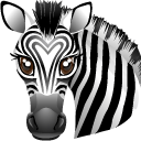 http://icons.iconarchive.com/icons/ergosign/world-animal/128/zebra-icon.png