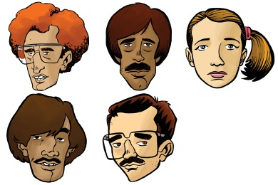 Napoleon Dynamite Icons