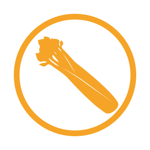 Celery allergy amber icon