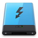 Blue-Thunderbolt-B icon