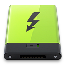 Green-Thunderbolt icon