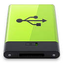 Green-USB icon