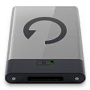 Grey Backup B icon