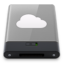 Grey iDisk W icon