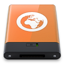 Orange Server W icon