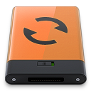 Orange Sync B icon