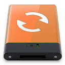 Orange Sync W icon