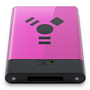 Pink Firewire B icon
