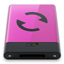 Pink Sync B icon