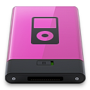 Pink iPod B icon
