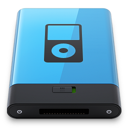 Blue iPod B icon