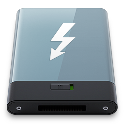 Graphite Thunderbolt W icon