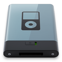 Graphite iPod B icon