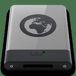 Grey Server B icon