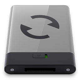 Grey Sync B icon