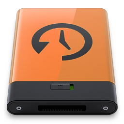 Orange Time Machine B icon