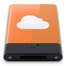 Orange iDisk W icon