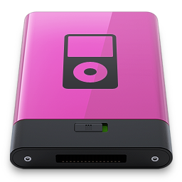 Pink iPod B icon