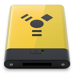 Yellow Firewire icon