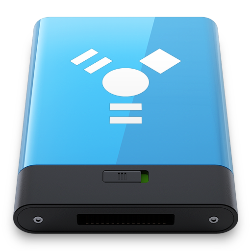 Blue-Firewire-W icon