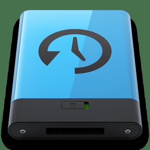 Blue-Time-Machine-B icon