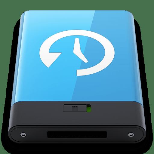 Blue-Time-Machine-W icon