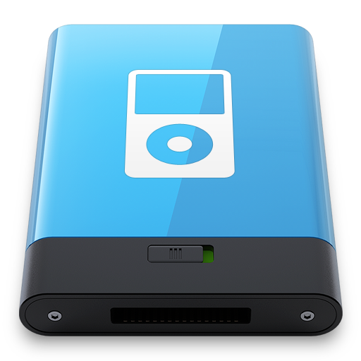 Blue-iPod-W icon