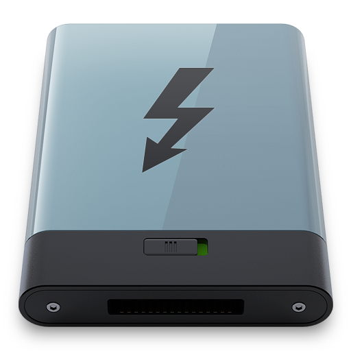 Graphite-Thunderbolt-B icon